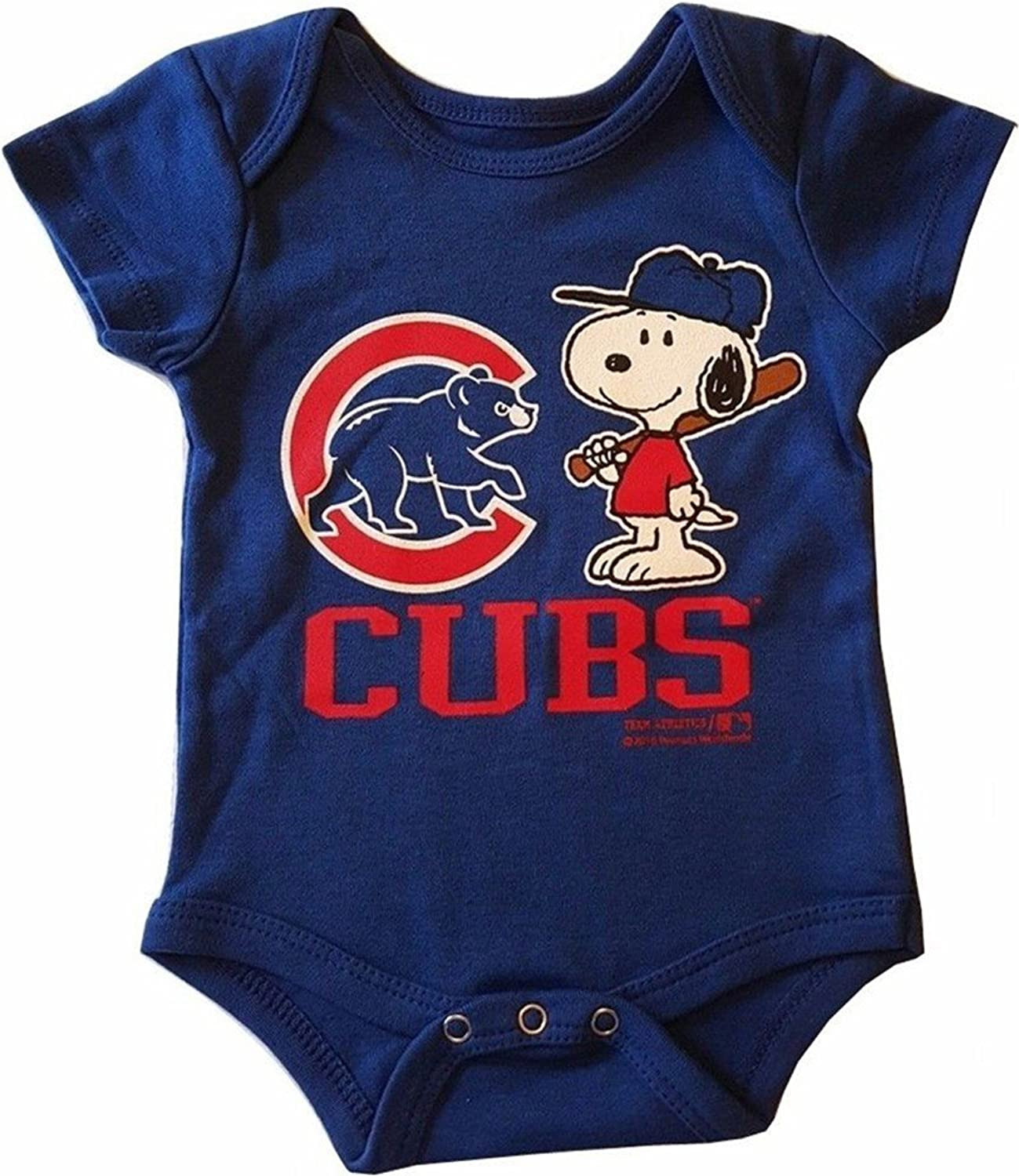 Amazon Chicago Cubs Peanuts Snoopy Boys Creeper A Clothing