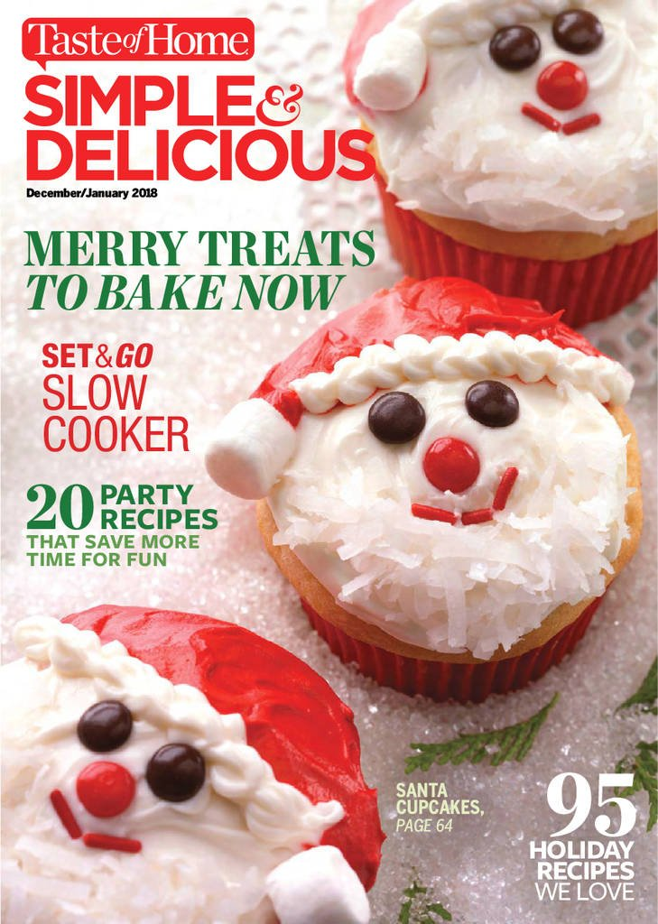 Simple & Delicious Print Magazine