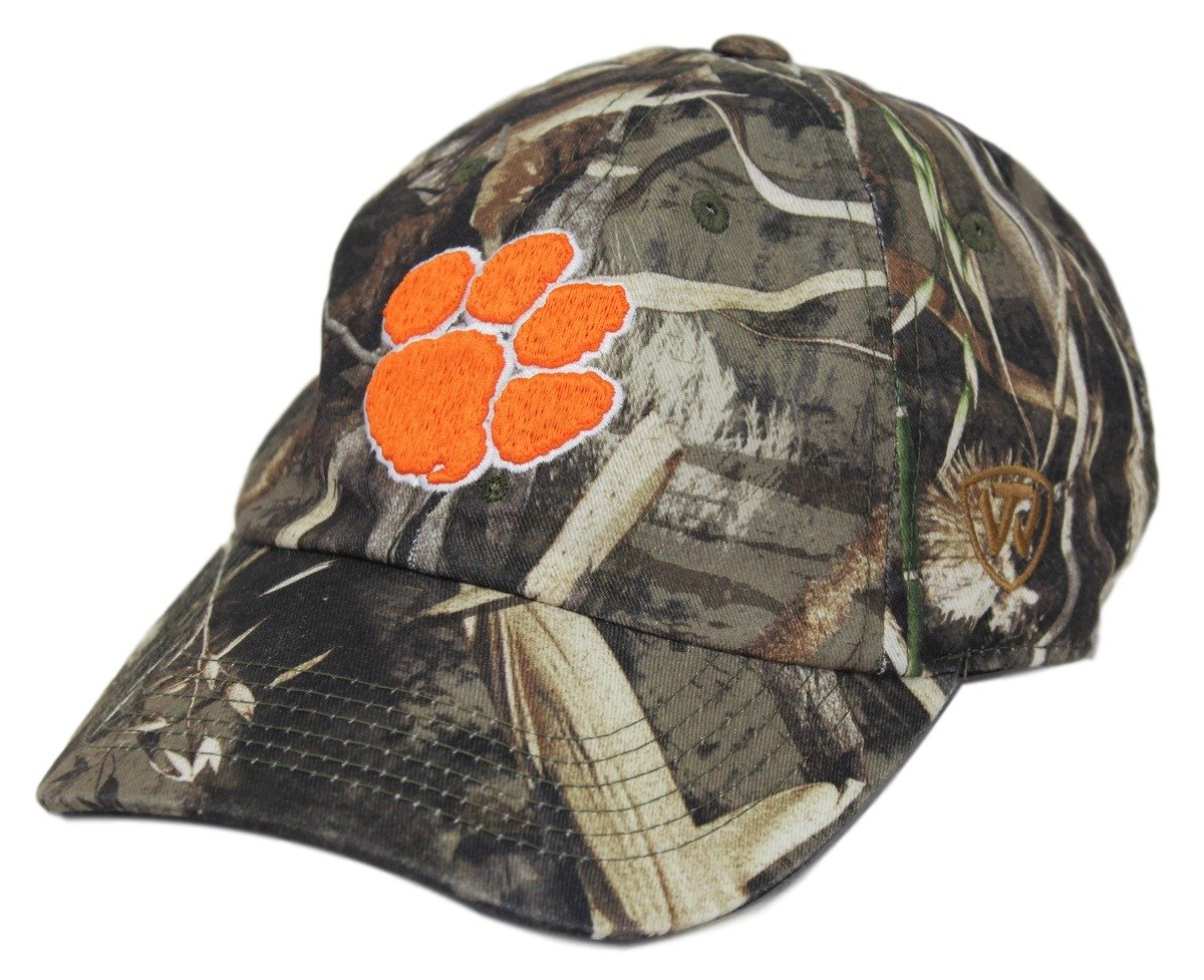 brand new 8d4b3 556bd ... low cost amazon clemson tigers ncaa tow crew max realtree camo  adjustable hat sports outdoors a8110