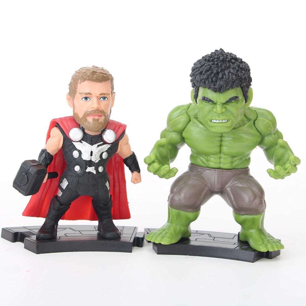 ATII Super Hero Adventures Ultimate Super Hero Set, 16 Figures from Avengers (Avengers: Infinity War)