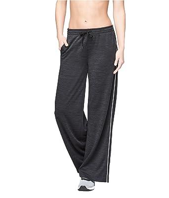 5fea305781 Aeropostale Womens Wide Leg Athletic Track Pants Black S/31 - Juniors