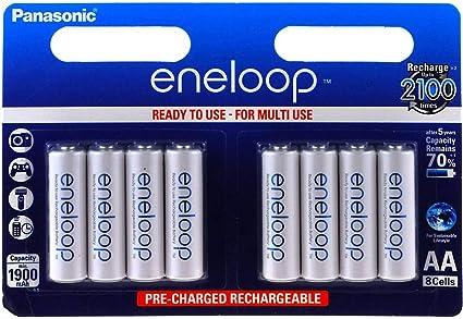 Panasonic Eneloop Akku Aa Bk 3mcce 8er Blister 1 2v Elektronik
