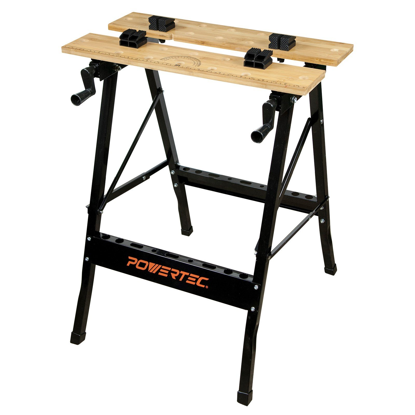 POWERTEC MT4006 Workbench with Bamboo Top