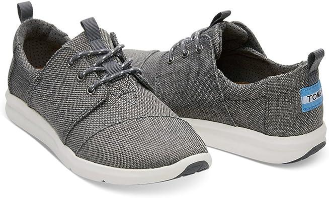 TOMS Women's Del Rey Sneaker Steel Grey