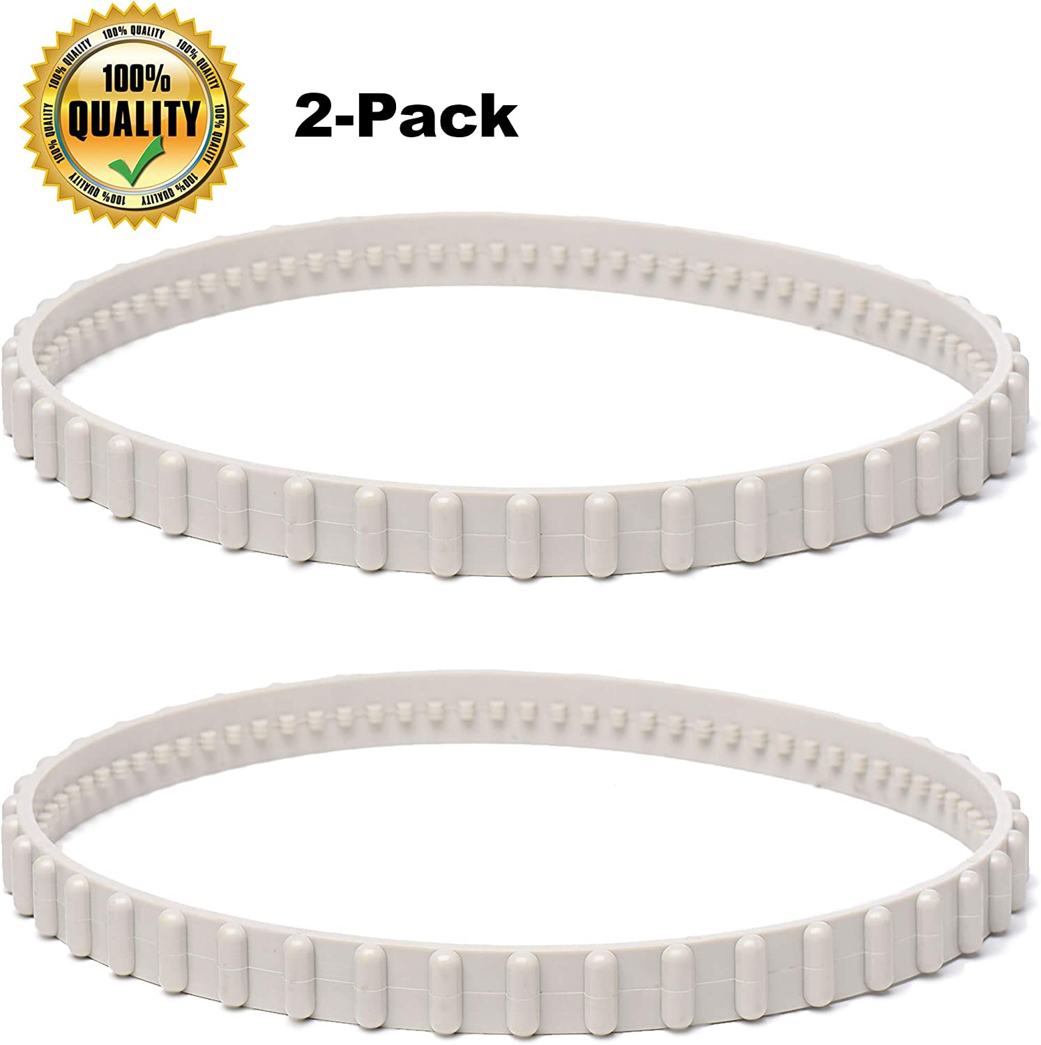 AR-PRO 2-Pack RCX23002 Exact Drive Belt Replacement for Hayward Aquavac Tiger Shark/Plus/QC/SharkVac Pool Cleaner | Made of Premium, Heavy Duty Rubber - 50% More Durable