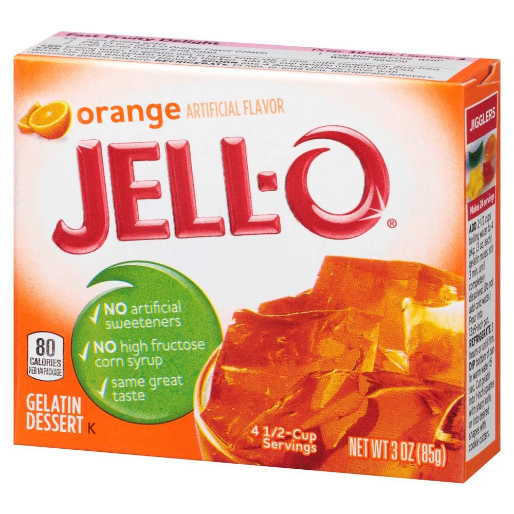 Jell-O Orange Gelatin Mix 3 Ounce Box by Jell-O (Image #4)