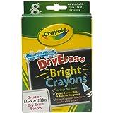 Crayola 8 Effacer Sèche des Craies Grasses aux Couleurs Vives