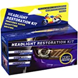 Plextone Headlights Restoration Kit Restore Dull Faded and Discoloured Headlights (estores Oxidation, Hazy, Yellow, Scratch) Car Headlight Cleaner with Exclusive UV Protection Clear Coat