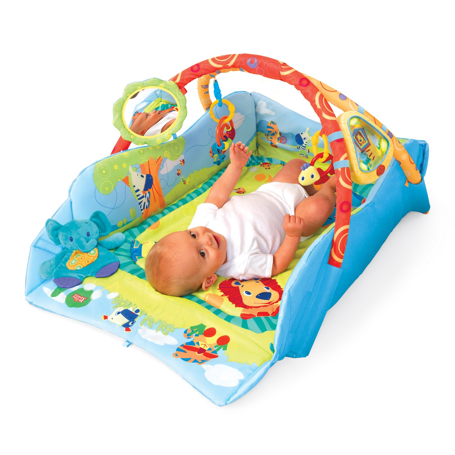 Amazon Bright Starts Baby s Play Place Deluxe Early