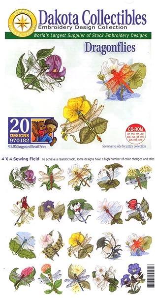 Amazon Dakota Collectibles Dragonflies Multi Format