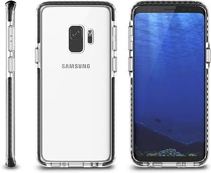 inorlo Samsung Galaxy S9 móvil, transparente, flexible TPU Bumper ...