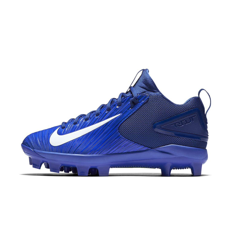 Nike Men Trout 3 Pro MCS Baseball Cleats (10 D(M) US, Racer Blau Weiß Rush Blau)