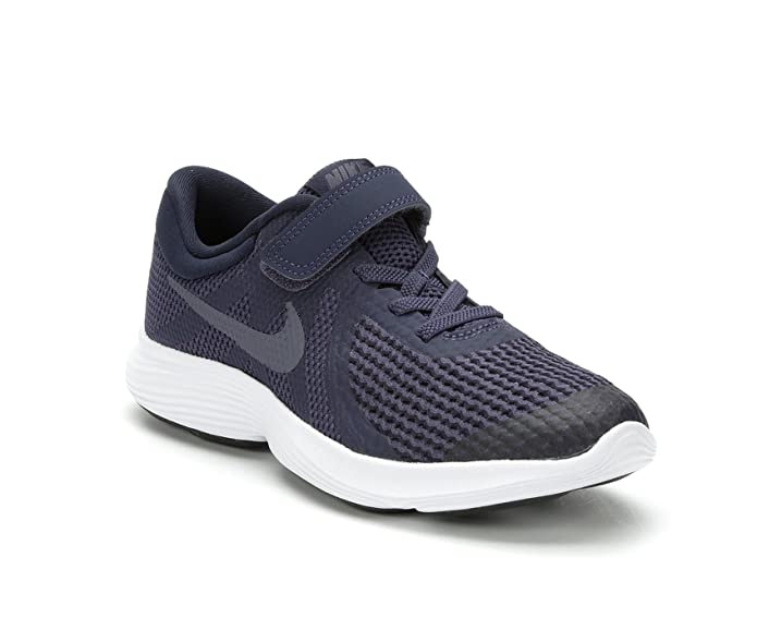 Running Shoe Light Carbon NIKE Boys/' Revolution 4 Obsidian # 943305-008 PSV