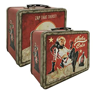 FanWraps Fallout 4 Nuka Cola Collectible Tin Tote
