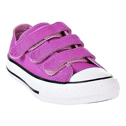 bc6a33c2ff3e ... Converse Chuck Taylor All Star 3V OX Big Kid s Shoes Hyper Magenta Light  Orchid 660000f ...