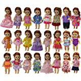 ZITA ELEMENT SET OF 10 Handmade Cute Fashion Party Outfit for Barbie's Sister Kelly Size Doll Clothes