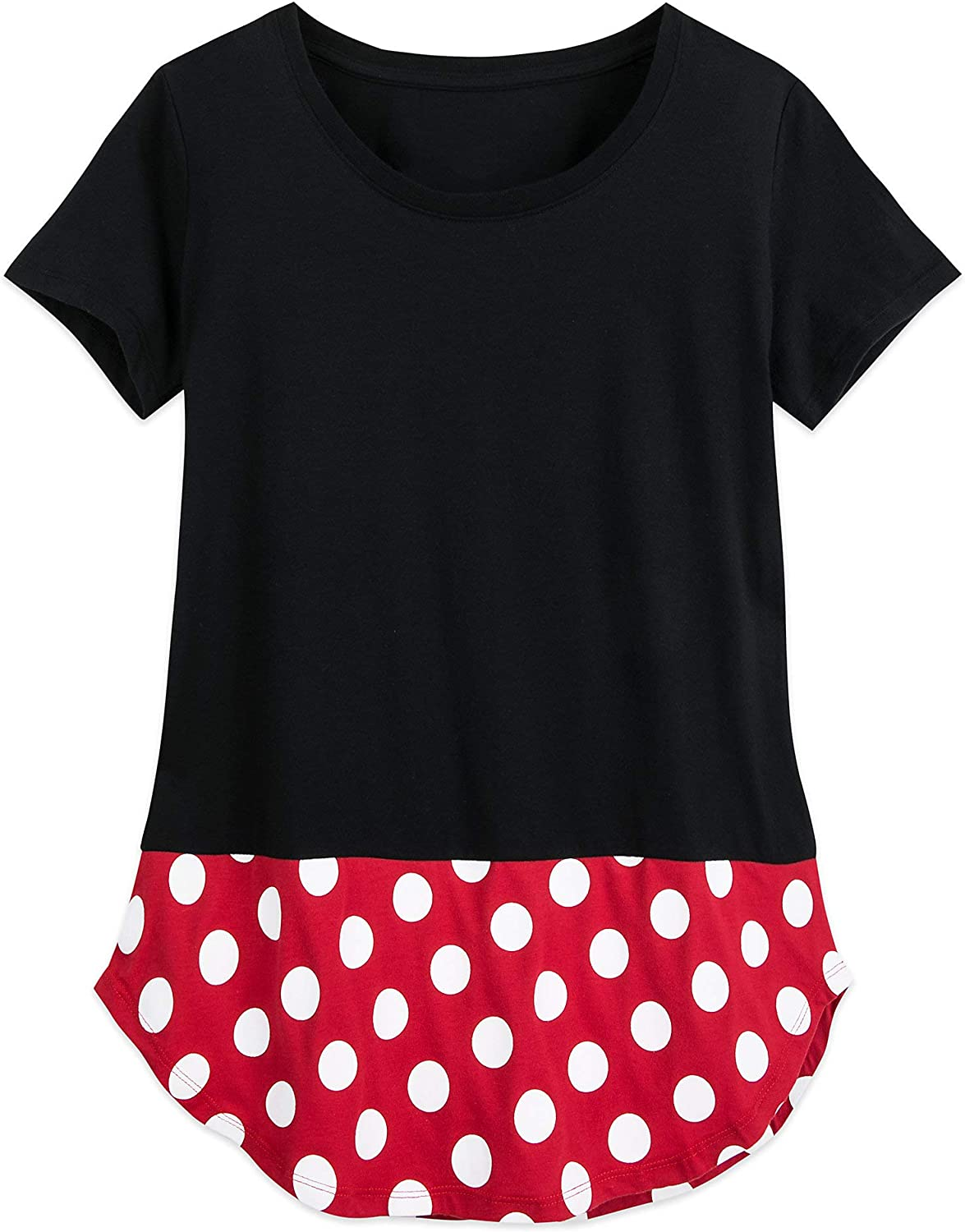Disney Minnie Mouse Costume T-Shirt for Women Multi