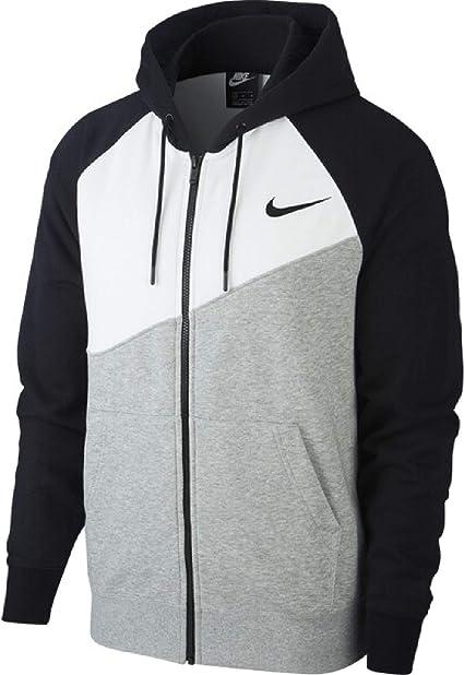 Nike NSW Swoosh Hoodie Fz Ft Sweat à Capuche Homme: Amazon