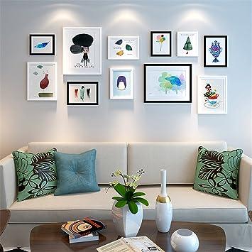 Schon GUOCAIRONG® Bilderrahmen Wand Dekorative Malerei Kombination Wohnzimmer  Schlafzimmer Restaurant Nachttisch Hängende Gemälde Modern Einfach Kreativ