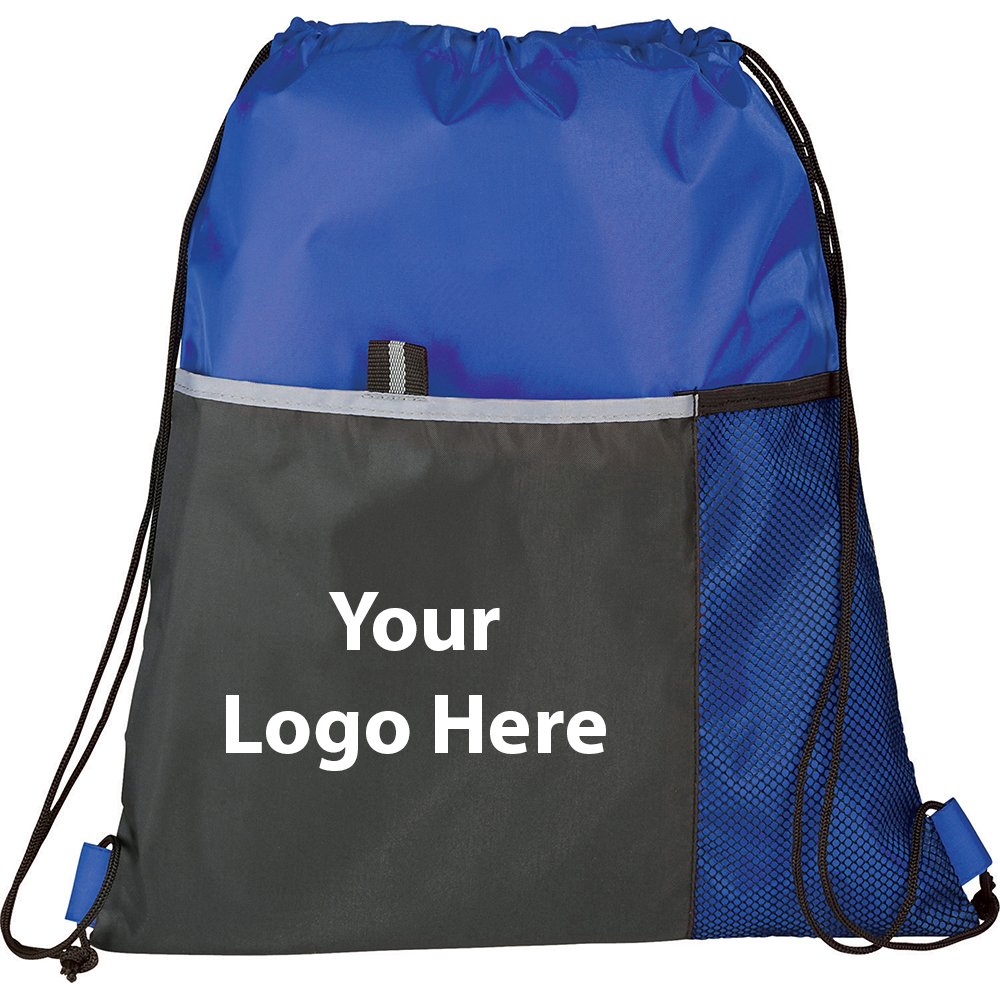 Free Throw Drawstring Sportspack - 150 Quantity - $3.00 Each - PROMOTIONAL PRODUCT / BULK / BRANDED with YOUR LOGO / CUSTOMIZED by Sunrise Identity