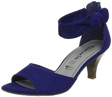 tamaris ankle boots blau