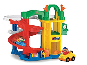 Little People Garage : Mattel fisher price l1343 little people parkgarage: amazon.de