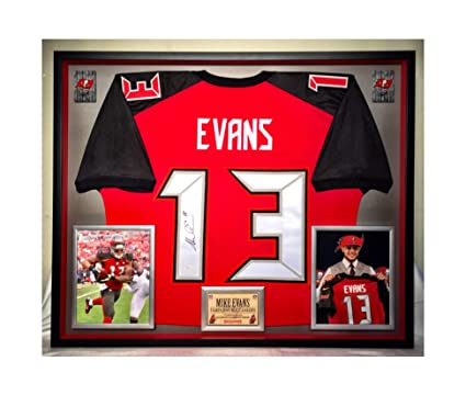 94c8101e Premium Framed Mike Evans Autographed/Signed Tampa Bay Buccaneers ...