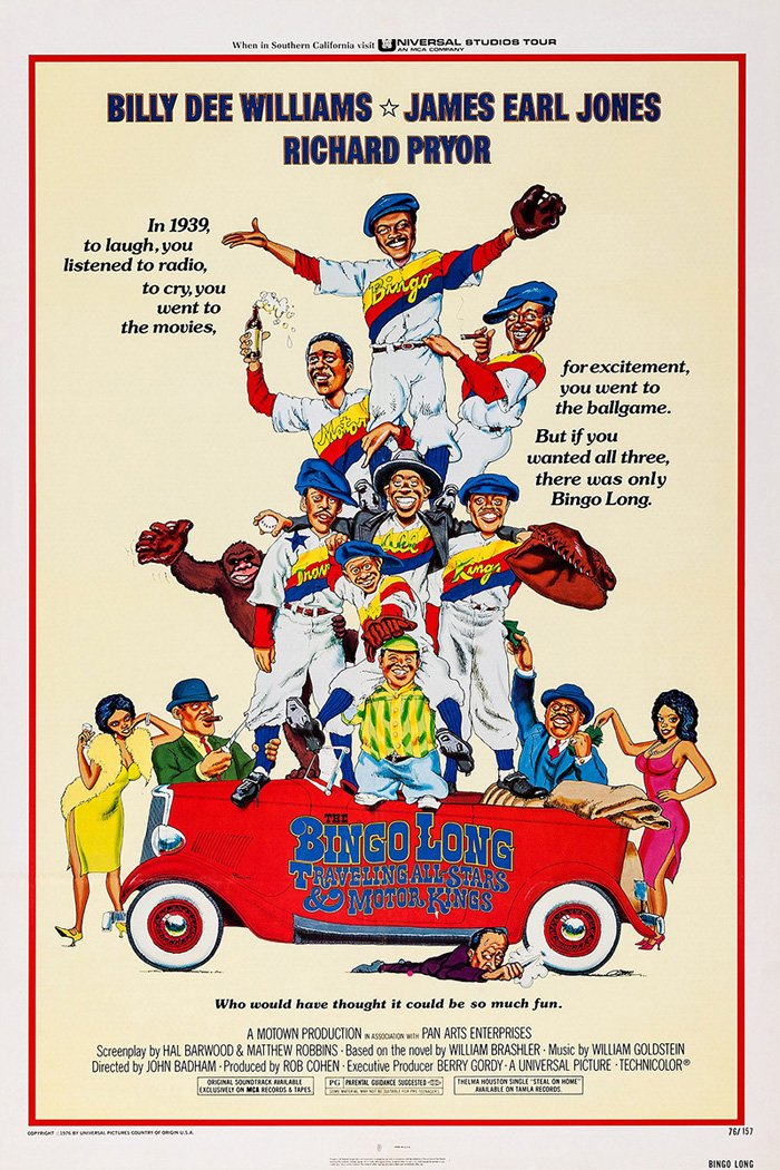 Bingo Long Traveling All-Stars Movie Poster or Canvas