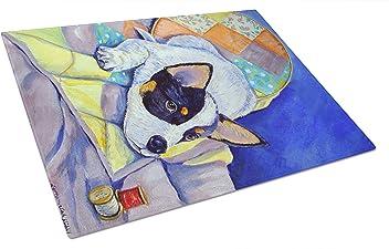 7.5HX7.5W Carolines Treasures Australian Cattle Dog Pair of Pot Holders KJ1110PTHD Multicolor
