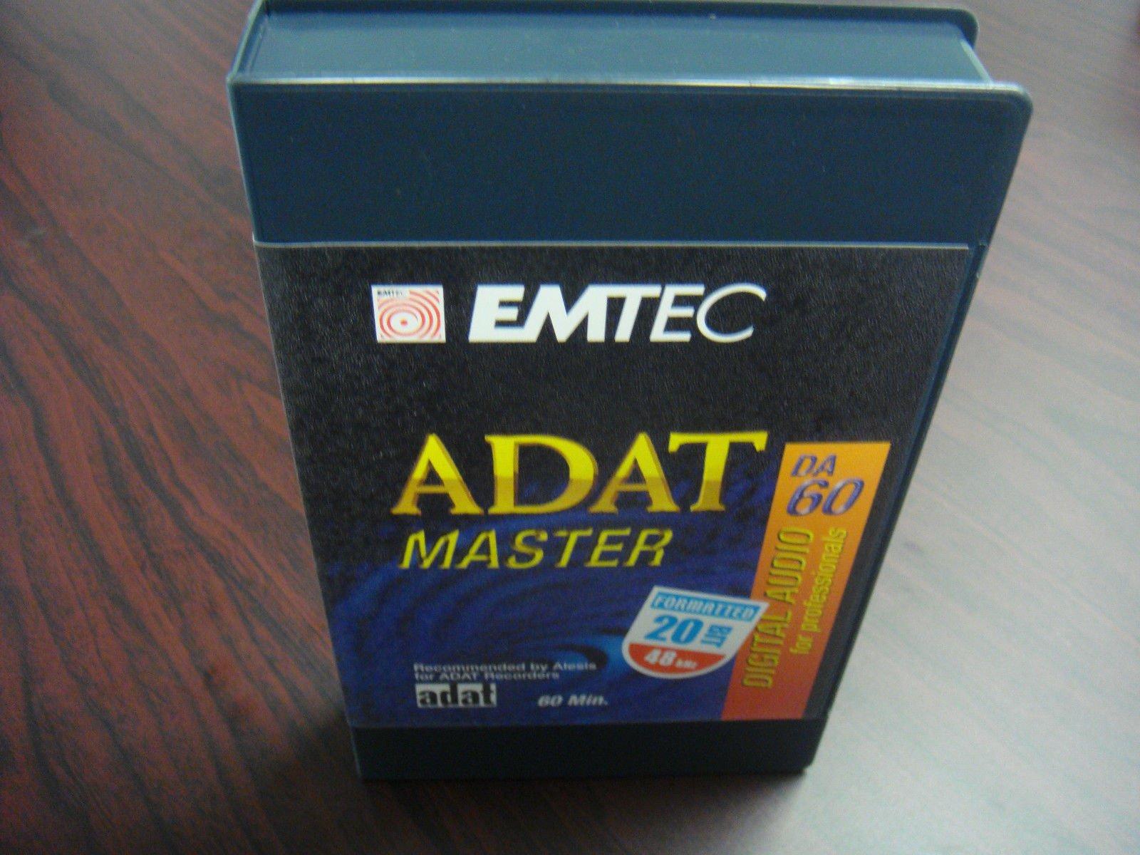 BASF 60-Minute *20 BIT FORMATTED Blank ADAT Tape in Case