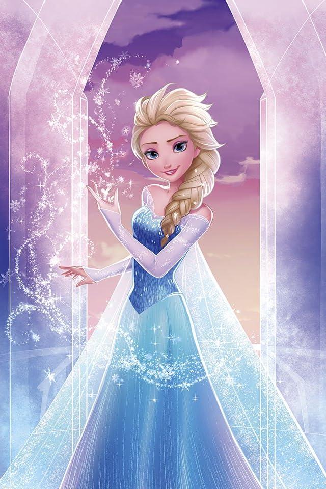 ディズニー アナと雪の女王 スノー・クィーン iPhone(640×960)壁紙画像