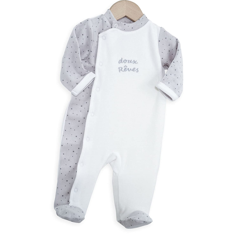 Kinousses Pyjama pour Bébé Doux Rêves Blanc 910 2024