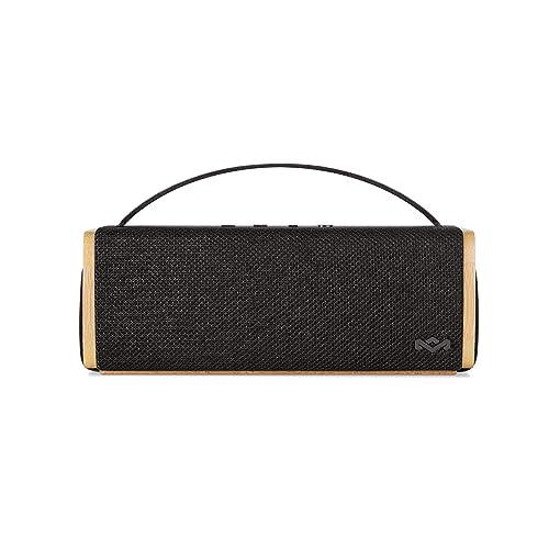 The House Of Marley Riddim BT Mini Mono Portable Speaker Negro Madera Altavoces portátiles 2 54 cm 6 35 cm Inalámbrico y alámbrico A2DP Mono Portable Speaker Negro Madera