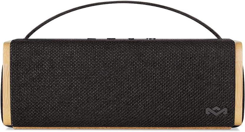 House Of Marley Riddim Bt Tragbare Bluetooth Lautsprecherbox 1 5 Zoll Full Range Treiber 10 Std Akkulaufzeit Aux In Schnelles Laden Per Usb Integriertes Mikrofon Für Iphone Ipad Etc Black Audio Hifi