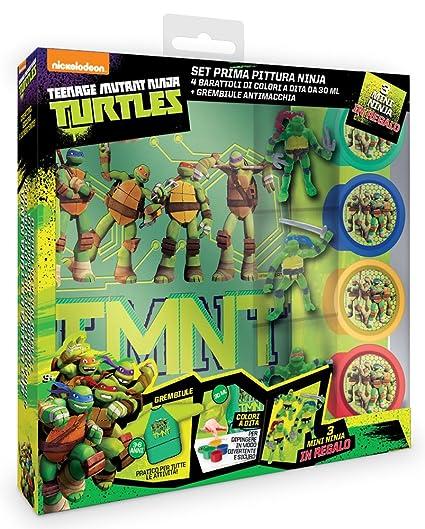 Ninja Turtles 42510 - Juego Pintura: Amazon.es: Juguetes y ...