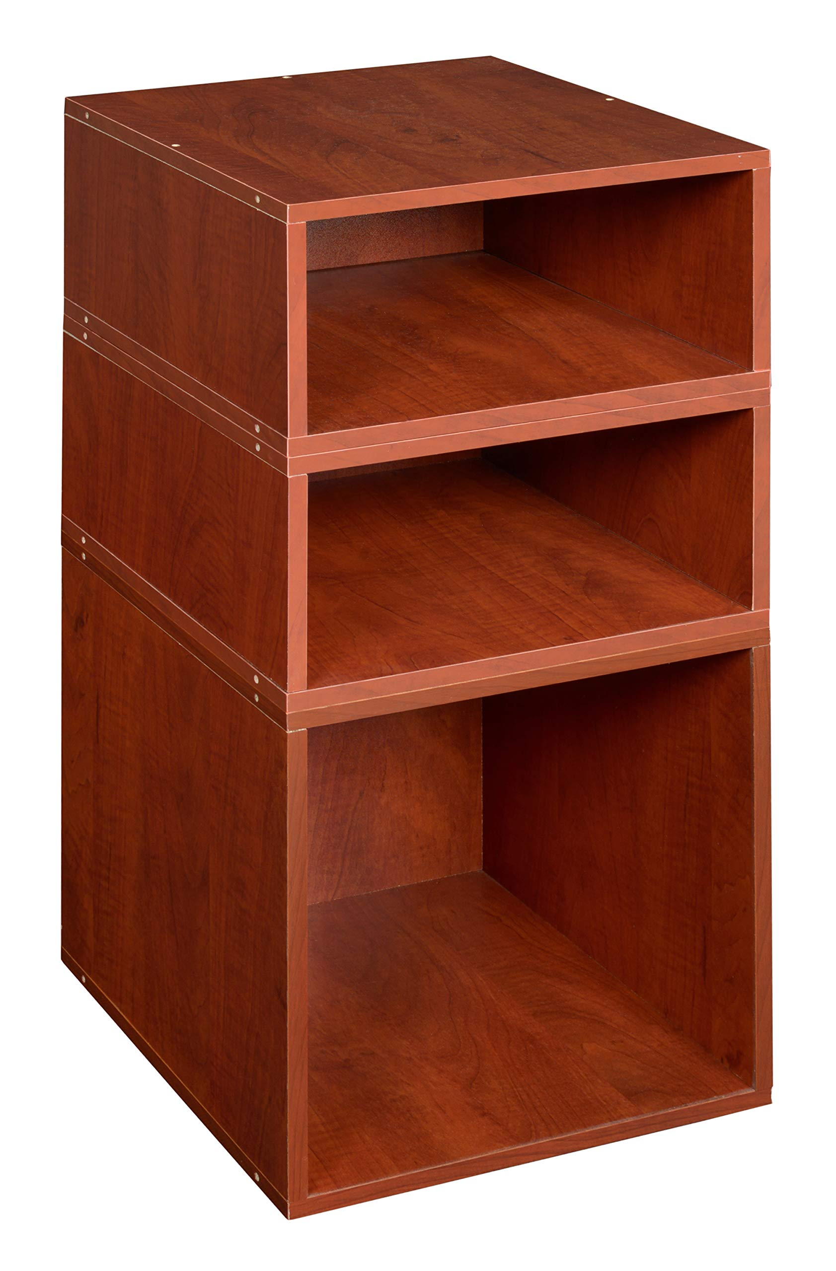 Niche PC1F2HPKWC Cubo Deluxe Storage Set with with Full and Half Size Cubes, 1 2, Cherry