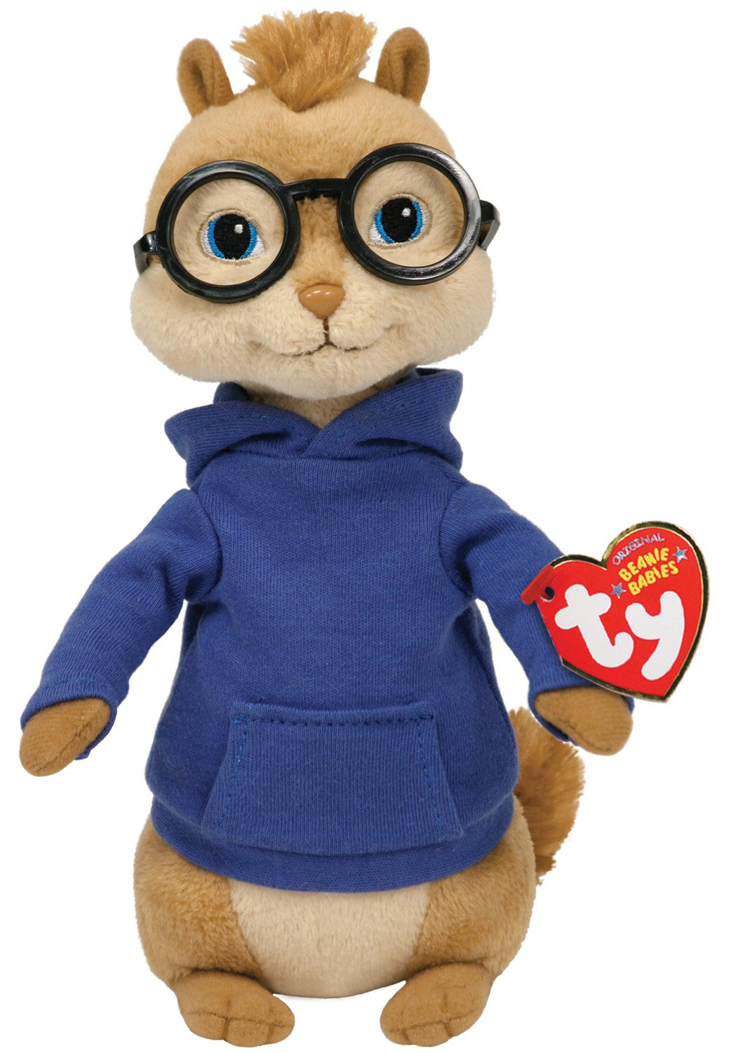 Ty UK Beanie Baby Alvin And The Chipmunks - Alvin Plush Toy  Amazon ... 36d660127637