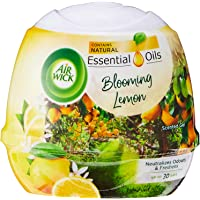Air Wick Natural Oil Scented Gel, Blooming Lemon, 180 g