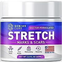 Stretch Marks & Scars Defense Cream Daily Moisturizer w Organic Shea Butter + Plant...