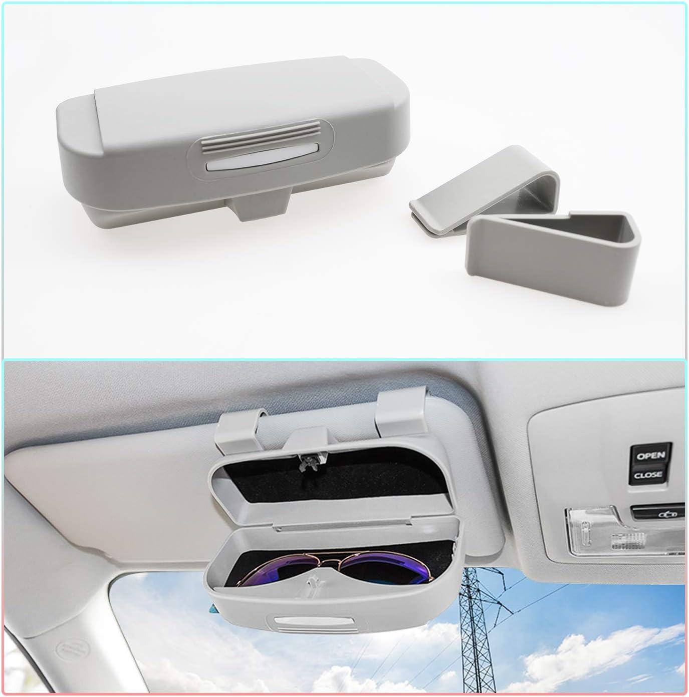 LFOTPP Car Sunglasses Sun Glass Holder Case Eyeglasses Storage Box for 2018 Beige A Style CRV CR-V,/Interior Accessories Autos Parts