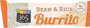 365 Everyday Value, Bean and Rice Burrito, 6 oz, (Frozen)