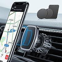 LISEN Phone Holder Car, [Upgraded Clip] Magnetic Phone Mount [6 Strong Magnets]...