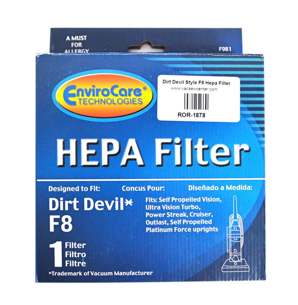 Dirt Devilスタイルf8掃除機HEPAフィルタror-1878   B008MM75NI
