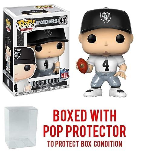Derek Carr Oakland Raiders Away POP Action- & Spielfiguren Vinyl