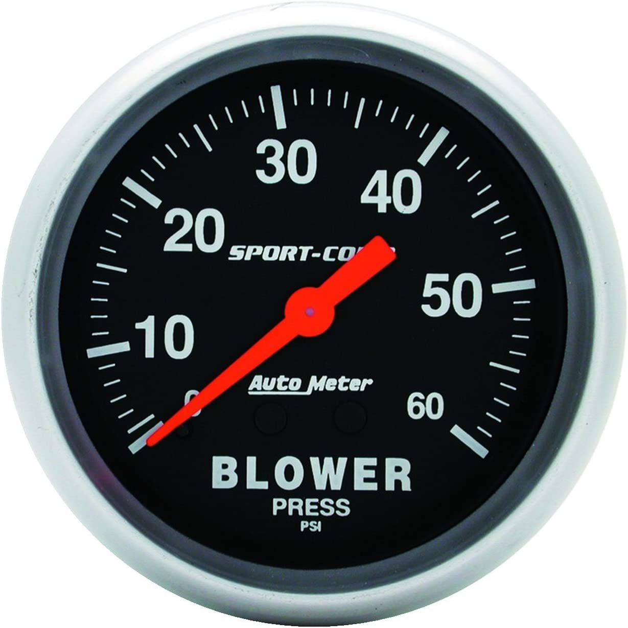 Auto Meter 3402 Sport-Comp Mechanical Blower Pressure Gauge