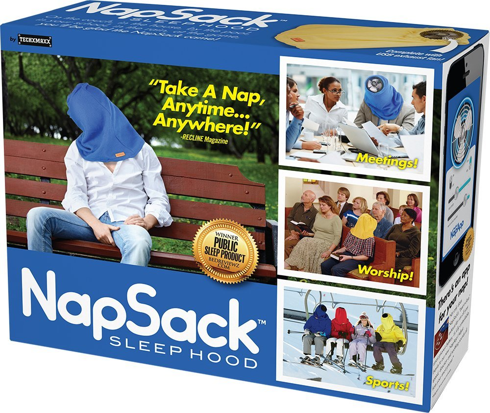 "Prank Pack ""Nap Sack - Wrap Your Real Gift in a Funny Joke Gift Box Prank-O"