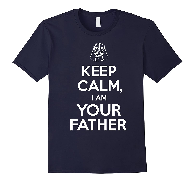 Mens Keep Calm I Am Your Father shirts - Star shirt war-TH