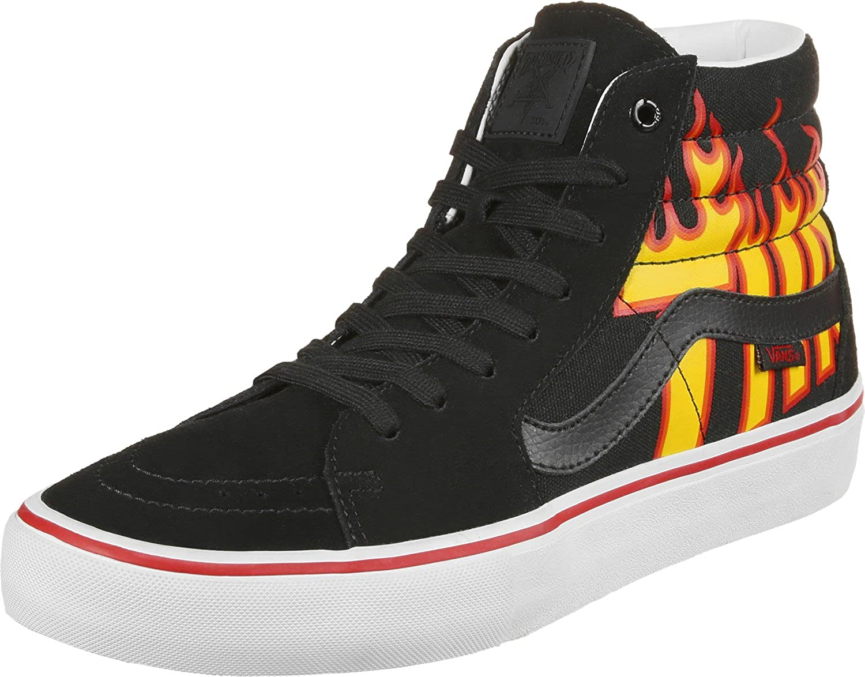 vans x thrasher sk8 hi pro shoes