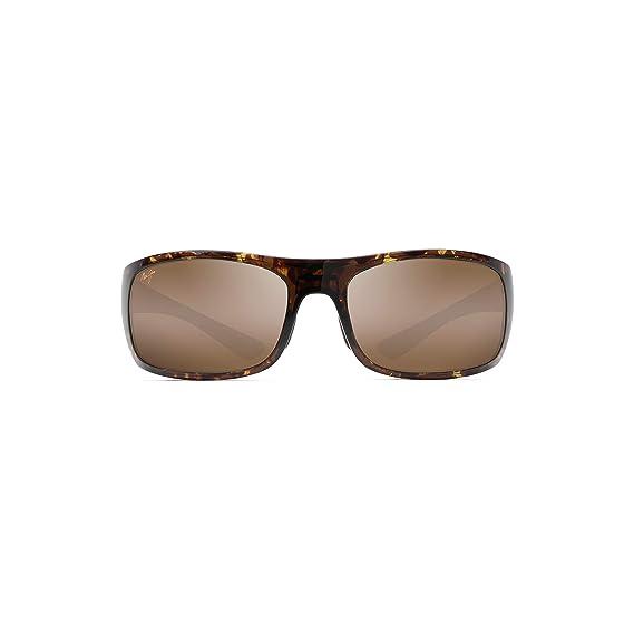 4f9f1499667 Maui Jim H440 15T Olive Tortoise Big Wave Rectangle Sunglasses ...