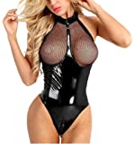 Lencería Mujer Sexy Monos Babydoll Camisón Ropa Interior Erotica Conjunto Tanga Entrepierna Abierta Bodysuit Lingerie…